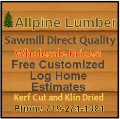 Allpine Lumber - Makers of the finest milled logs!